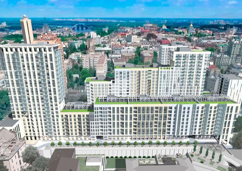 Гідроізоляція покрівлі в ЖК Ярославів Град