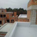Гидроизоляции кровли и балконов в ЖК Счастье 7