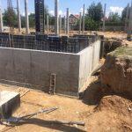 Устройство гидроизоляции помещения насосного и пожарного резервуаров в супермаркете Новус 3