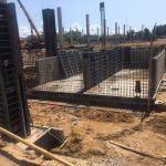 Устройство гидроизоляции помещения насосного и пожарного резервуаров в супермаркете Новус 4