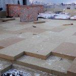 Роботи по влаштуванню теплоізоляції і гідроізоляції покрівлі в ЖК Orange City 2