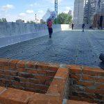 Тепло и гидроизоляция кровли бизнес-центра в Киеве 4