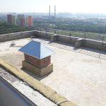 Роботи по влаштуванню теплоізоляції і гідроізоляції покрівлі в ЖК Orange City 5
