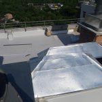 Роботи по влаштуванню теплоізоляції і гідроізоляції покрівлі в ЖК Orange City 4