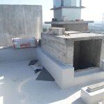 Роботи по влаштуванню теплоізоляції і гідроізоляції покрівлі в ЖК Orange City 3
