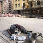 Устройство гидроизоляции кровли паркинга в ЖК Подол Град 2