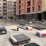 Устройство гидроизоляции кровли паркинга в ЖК Подол Град 4