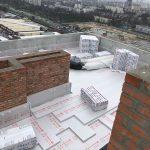 Тепло та гідроізоляція покрівлі в ЖК Urban Park 17