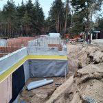 Роботи по влаштуванню підземної гідроізоляції поверхонь стін в КГ Riviera Village 3