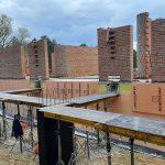 Роботи по влаштуванню підземної гідроізоляції поверхонь стін в КГ Riviera Village 4
