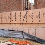 Роботи по влаштуванню підземної гідроізоляції поверхонь стін в КГ Riviera Village 6