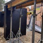 Роботи по влаштуванню підземної гідроізоляції поверхонь стін в КГ Riviera Village 7