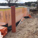 Роботи по влаштуванню підземної гідроізоляції поверхонь стін в КГ Riviera Village 8