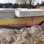 Роботи по влаштуванню підземної гідроізоляції поверхонь стін в КГ Riviera Village 9