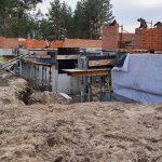 Роботи по влаштуванню підземної гідроізоляції поверхонь стін в КГ Riviera Village 10