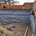 Роботи по влаштуванню підземної гідроізоляції поверхонь стін в КГ Riviera Village 11
