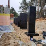 Роботи по влаштуванню підземної гідроізоляції поверхонь стін в КГ Riviera Village 15
