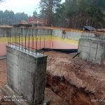 Роботи по влаштуванню підземної гідроізоляції поверхонь стін в КГ Riviera Village 13