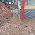 Роботи по влаштуванню підземної гідроізоляції поверхонь стін в КГ Riviera Village 14