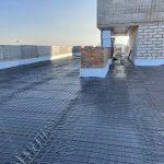 Влаштування тепло та гідроізоляції покрівлі в ЖК Central 14
