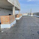 Влаштування тепло та гідроізоляції покрівлі в ЖК Central 18