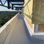 Гидроизоляция свайного поля в ЖК White Lines 76