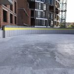 Влаштування дренажної підпорної стіни у ЖК Mirax 6