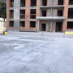 Влаштування дренажної підпорної стіни у ЖК Mirax 5