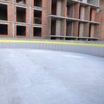 Влаштування дренажної підпорної стіни у ЖК Mirax 3