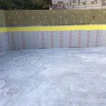 Влаштування дренажної підпорної стіни у ЖК Mirax 2